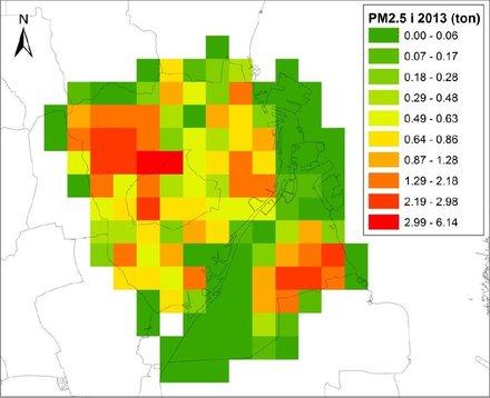 Nye Data Mindre Partikelforurening Fra Braendeovne I Kobenhavn Og
